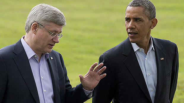 Prime Minister Harper and President Obama