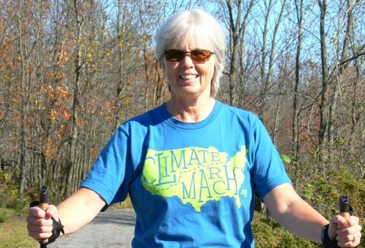 Climate Change leader, Anita Payne