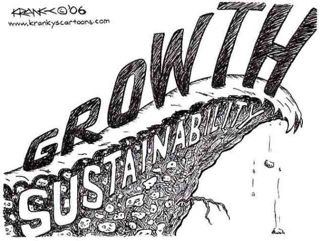 Is Sustainable Growth an Oxymoron?, boomer warrior