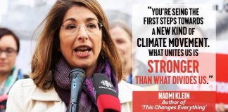 A New Climate Movement - #JusticeJobsClimate , boomer warrior