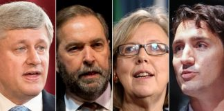 Election Canada 2015 - Climate Letter to Harper, May, Mulcair, Trudeau, boomer warrior