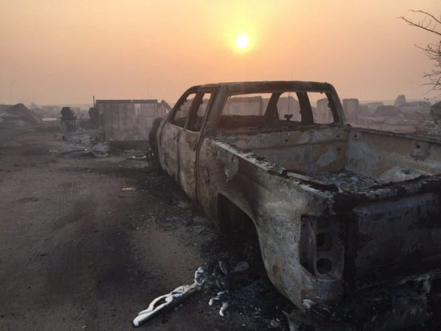 Climate Irony is Inescapable in Fort McMurray, boomer warrior