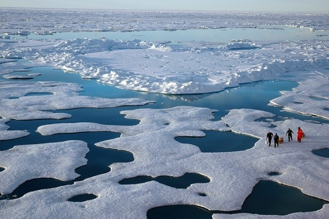 The Vanishing of Old Arctic Sea Ice Is In Overdrive, boomer warrior