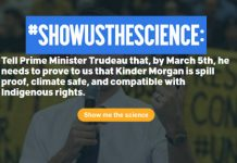 Show Us The Science On Kinder Morgan Mr. Trudeau, Below2C