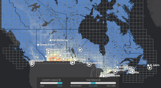 The Climate Atlas of Canada - Let's Take Meaningful #ClimateAction, Below2C
