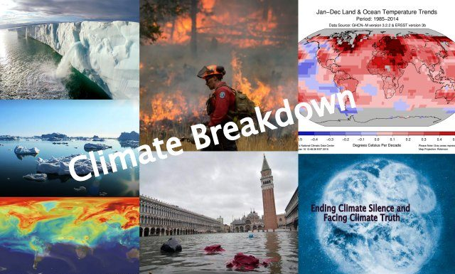 From Global Warming to Climate Change to Climate Breakdown, Below2C