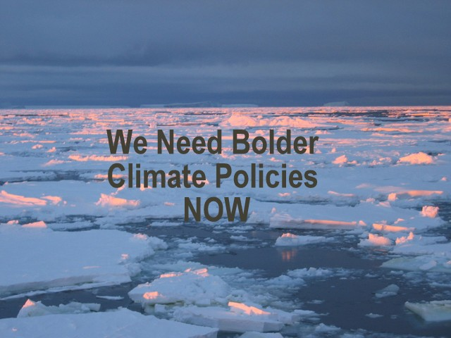 Canadians Want Bolder Climate Policies Immediately, Below2C