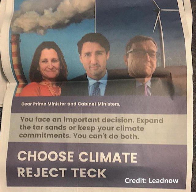 Choose Climate, Reject Teck. It's A NO-Brainer, Below2C