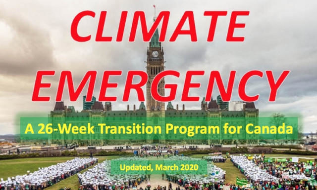 A 26-WeeK Climate Emergency Transition Program For Canada (Weeks 1-8), Below2C