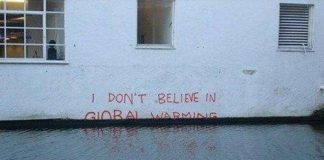 Flooding caused by global warming