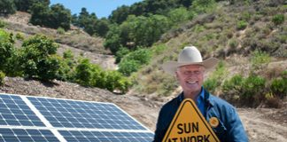 photo of Larry Hagman, from Solarworld