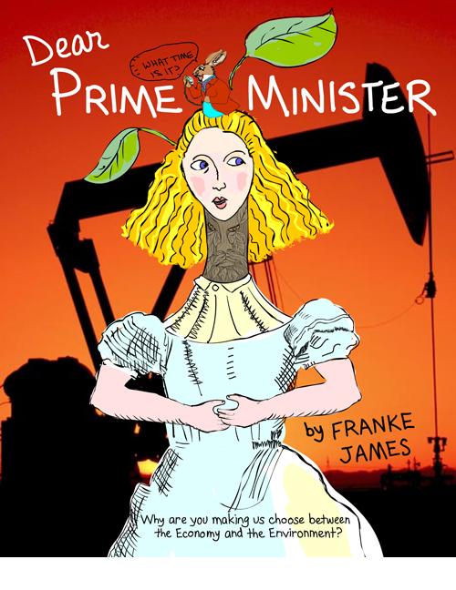 Dear Prime Minister visual essay, copyright Franke James
