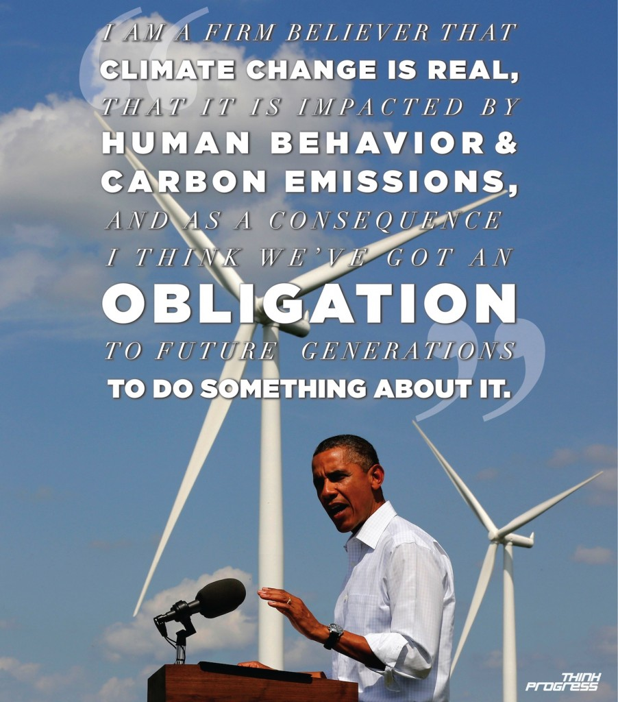President Obama speech on climate action plan