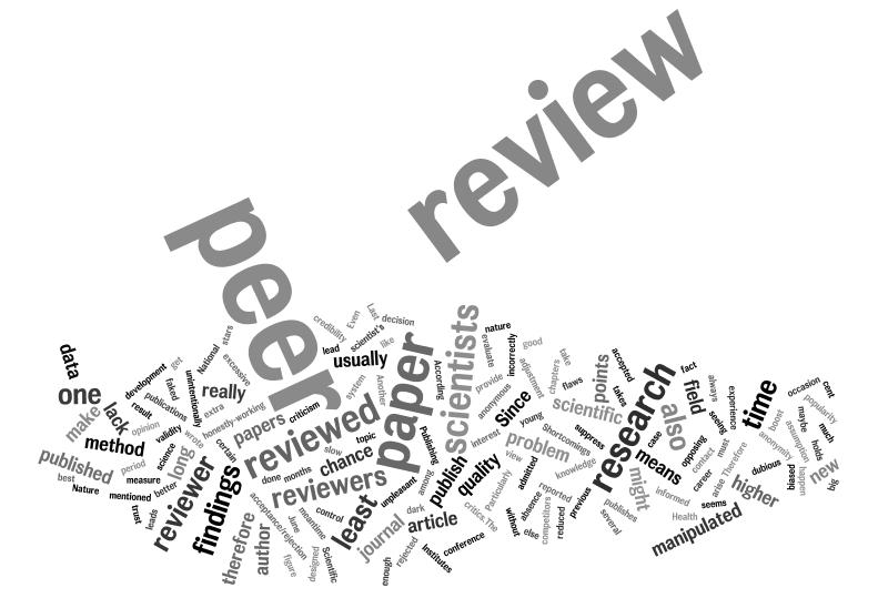 climate change science peer review