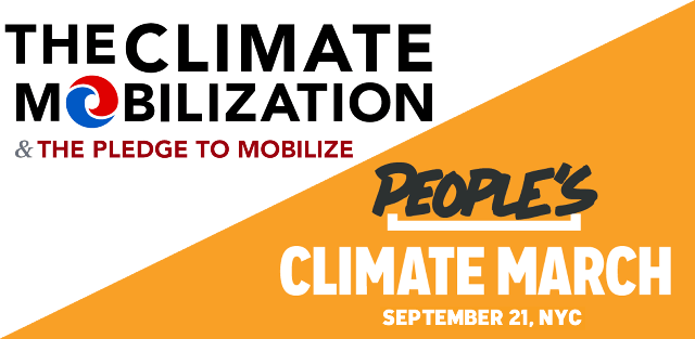 Climate Mobilization - A Movement and a March, boomer warrior