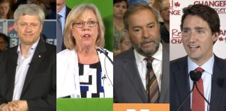 Letter to Federal Party Leaders - Harper, May, Mulcair, Trudeau