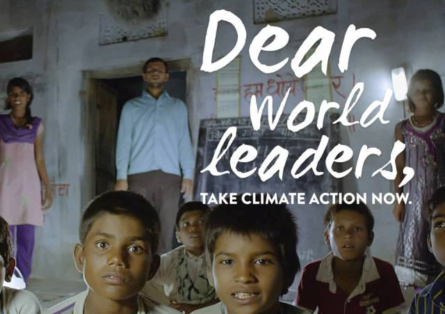 Dear World Leaders - Take Climate Action Now, boomer warrior