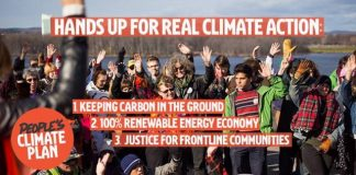 A People's Climate Plan for All Canadians, boomer warrior