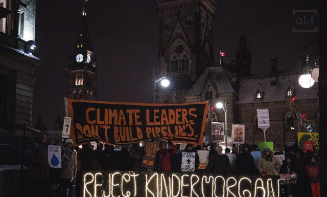 Kinder Morgan Is Litmus Test of Trudeau Climate Leadership, boomer warrior