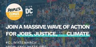 Protecting Climate Gains Already Made: Washington DC Climate March, below2c