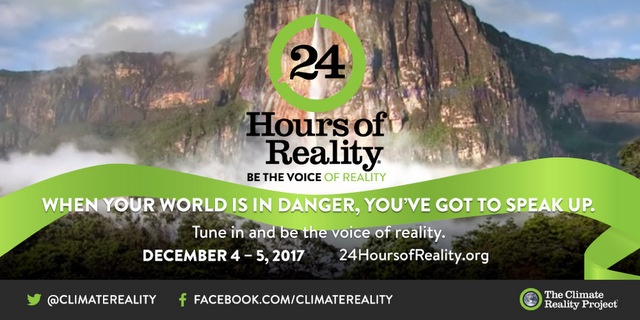 The Voice Of 10,000 Climate Leaders - 24 Hours of Reality, Below2C