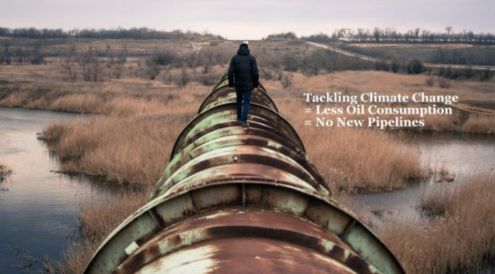 Tackling Climate Change = Less Oil Consumption = No New Pipelines, Below2C
