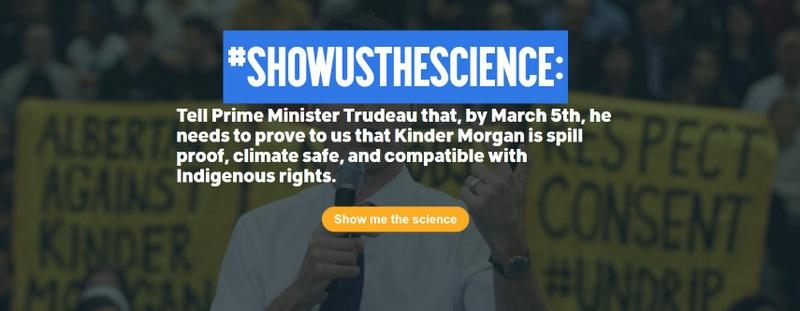 Show Us The Science On Kinder Morgan Mr. Trudeau, Below2C