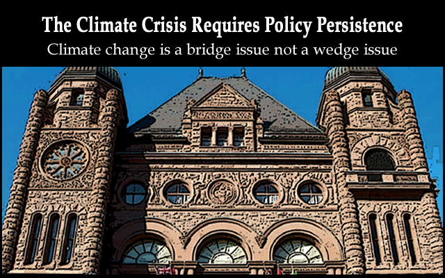 The Climate Crisis Requires Policy Persistence, Below2C