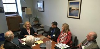 Lobbying For A Liveable World on Parliament Hill, Below2C