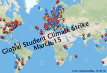 Student Climate Strikes Going Global On March 15, Below2C