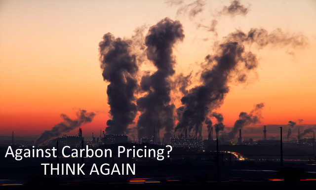 Against Carbon Pricing? Think Again., Below2C