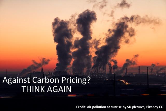 Against Carbon Pricing? Think Again., Below2C