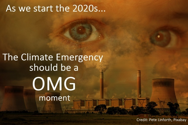 It's the 2020s And We 're In A Climate Emergency. OMG, Below2C