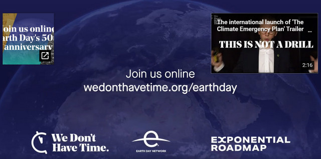 Earth Day Week: We Have The Solutions, Below2C