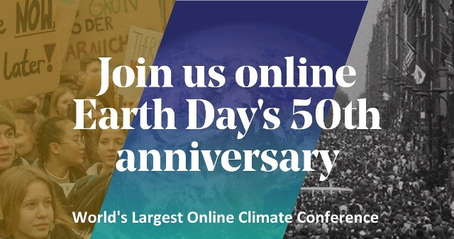 Earth Day Week and World's Largest Online Conference, Below2C