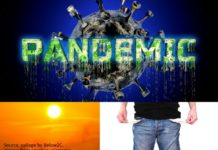The Trifecta of the Pandemic - COVID-19, Unemployment, Heat, Below2C