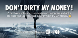 Tell Your Bank: Don't Dirty My Money, Below2C