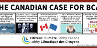 The Canadian Case for Border Carbon Adjustments, Below2C