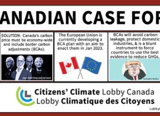 The Canadian Case for Border Carbon Adjustments, Below2C