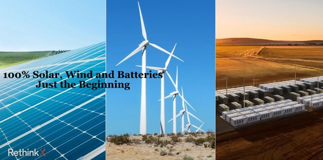 100% Solar, Wind, and Batteries is Just the Beginning, Below2C