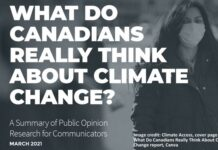 Canadian Attitudes on Climate Change - Not What It Seems, Below2C
