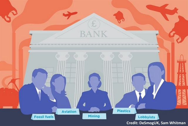 Who Knew? Canada's Big Banks Have Board Members With Ties To Fossils, Below2C