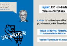 When Will My Bank (RBC) Divest From Fossil Fuels?, Below2C