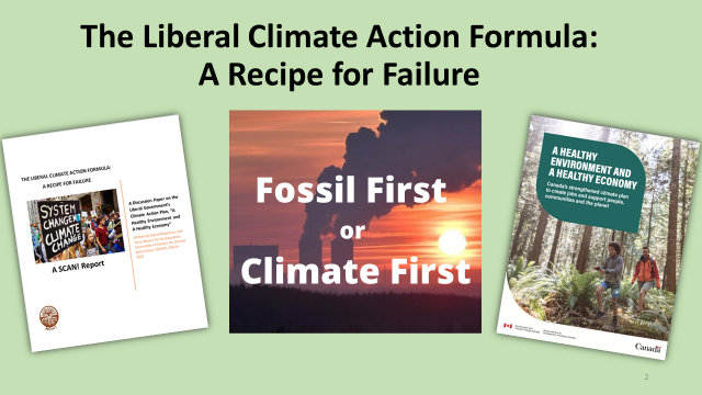 Canada's Climate Plan: Fossil First or Climate First?, Below2C