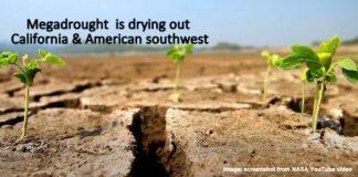 California, North America's Garden, In Severe Drought, Below2C
