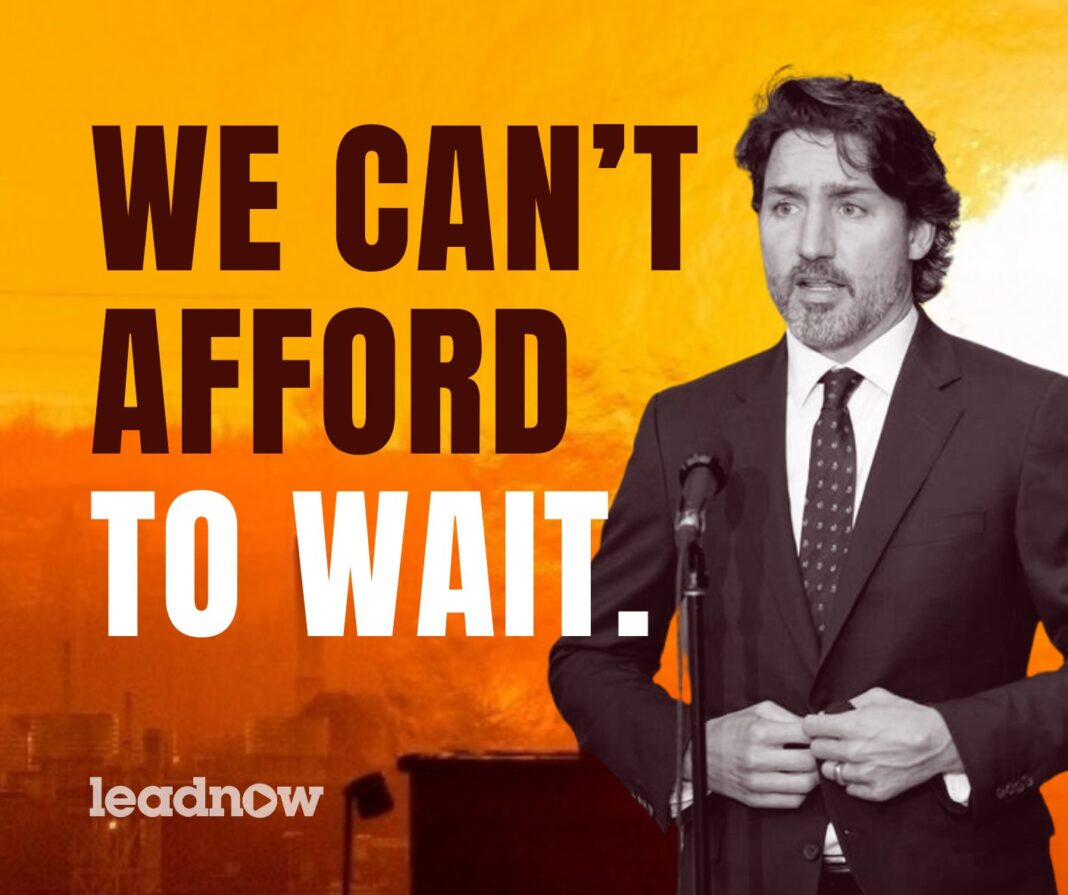 Canada Is On Fire: Tell Justin Trudeau To Act Like It, Below2C