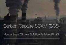 Carbon Capture and Storage (CCS): A Death Sentence For the Planet, Below2C