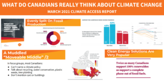 """Canada: Climate Change and the Muddled """"Moveable Middle"""" , Below2C"""