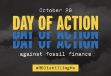 #RBCisKillingMe: Stop Funding Fossil Fuels and Respect Indigenous Rights, Below2C